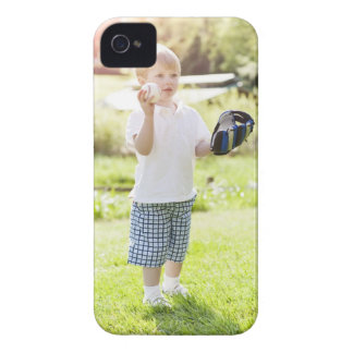 USA, Washington State, Seattle, Cute boy (2-3) Case-Mate iPhone 4 Cases