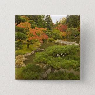 USA, Washington State, Seattle. Japanese 15 Cm Square Badge