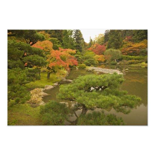 USA, Washington State, Seattle. Japanese Art Photo