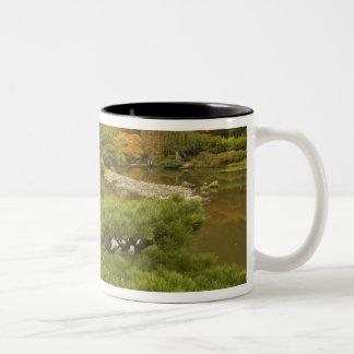 USA, Washington State, Seattle. Japanese Two-Tone Coffee Mug