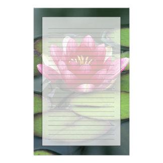 USA, Washington State, Seattle. Water lily and Stationery Paper