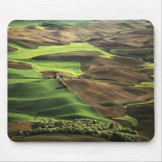 USA, Washington. View of Palouse farm country Mouse Mat
