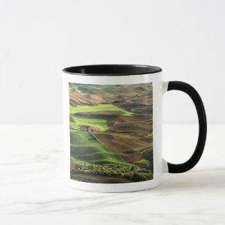 USA, Washington. View of Palouse farm country Mug