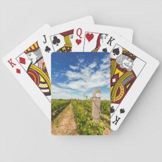 USA, Washington, Walla Walla. Cabernet Sauvignon Playing Cards