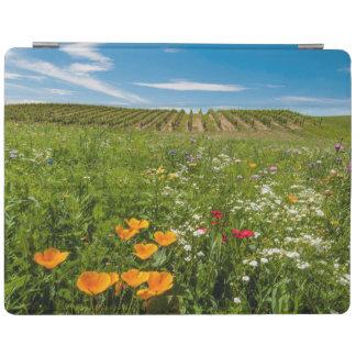 USA, Washington, Walla Walla. Wildflowers iPad Cover