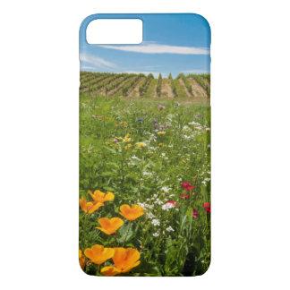 USA, Washington, Walla Walla. Wildflowers iPhone 8 Plus/7 Plus Case
