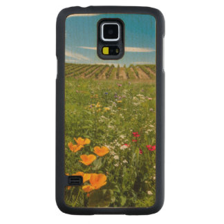 USA, Washington, Walla Walla. Wildflowers Maple Galaxy S5 Case