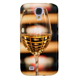 USA, Washington, Walla Walla. Wine Glass Galaxy S4 Case