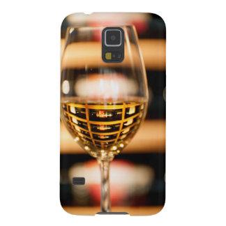 USA, Washington, Walla Walla. Wine Glass Galaxy S5 Case