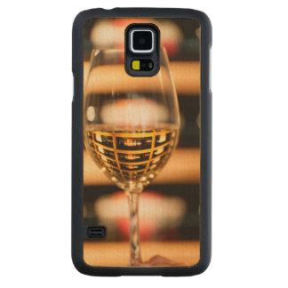 USA, Washington, Walla Walla. Wine Glass Maple Galaxy S5 Case