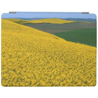 USA, Washington, Whitman County, Palouse, Canola iPad Cover