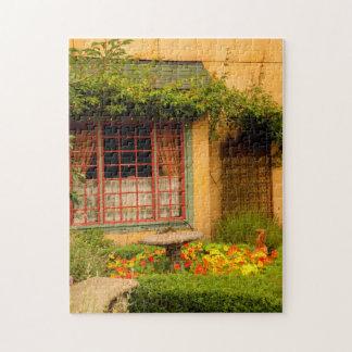 USA, Washington, Woodinville, The Herbfarm Jigsaw Puzzle