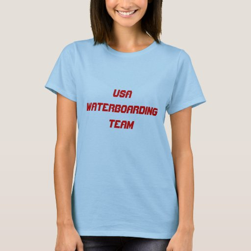 USA WATERBOARDING TEAM T-Shirt