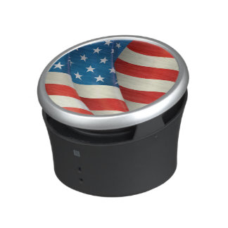 USA Waving Flag Stars and Stripes Speaker