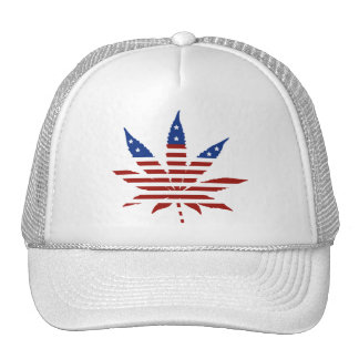 USA Weed Trucker Hat