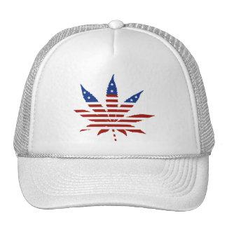 USA Weed Mesh Hat