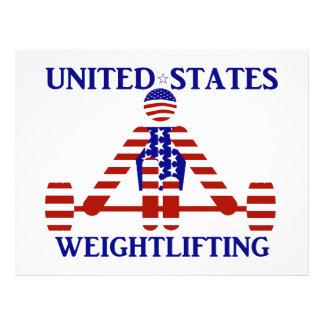 USA Weightlifting - Powerlifting Custom Flyer