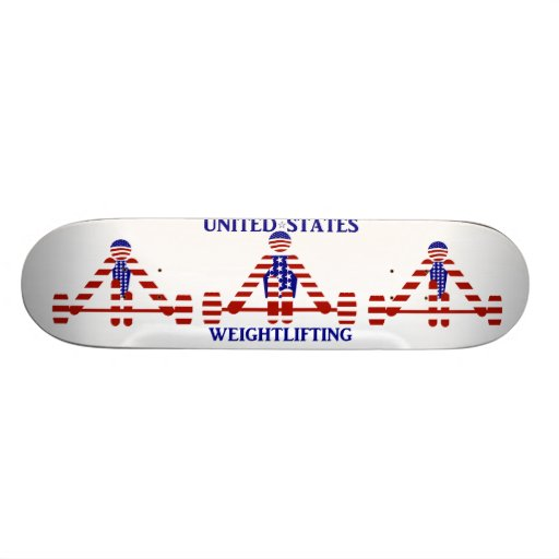 USA Weightlifting - Powerlifting Custom Skateboard