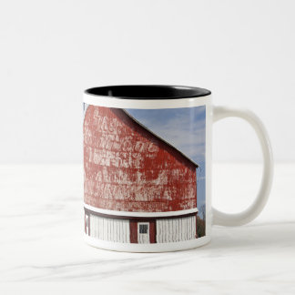 USA, West Virginia, Arbovale. Monongahela Two-Tone Coffee Mug