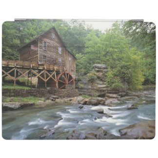 USA, West Virginia, Babcock SP. Rustic Glade iPad Cover