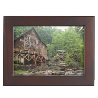 USA, West Virginia, Babcock SP. Rustic Glade Keepsake Box