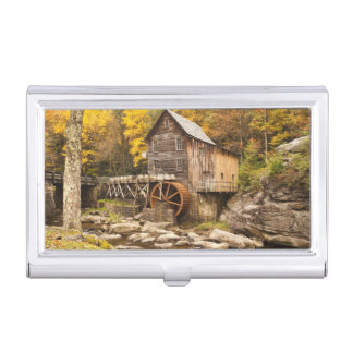USA, West Virginia, Clifftop. Babcock State 2 Business Card Holder