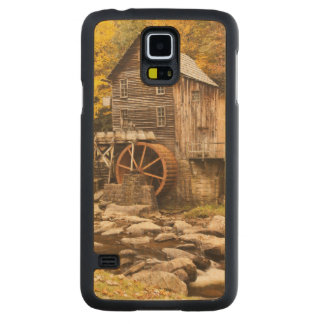 USA, West Virginia, Clifftop. Babcock State 2 Carved Maple Galaxy S5 Case