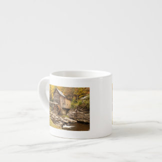 USA, West Virginia, Clifftop. Babcock State 2 Espresso Cup