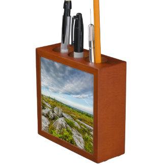 USA, West Virginia, Davis. Landscape In Dolly Pencil Holder