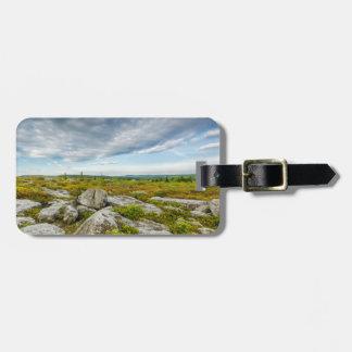 USA, West Virginia, Davis. Landscape In Dolly Travel Bag Tag
