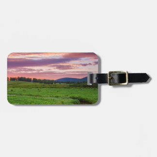 USA, West Virginia, Davis. Landscape Luggage Tag