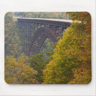 USA, West Virginia, Fayetteville. New River Mouse Mat