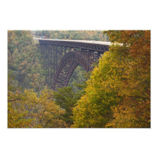 USA, West Virginia, Fayetteville. New River Photo Print
