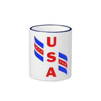 USA WINGER RINGER COFFEE MUG
