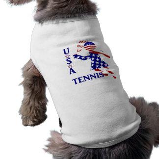 USA Women s Tennis Dog Tee