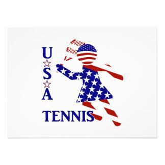 USA Women s Tennis Invites