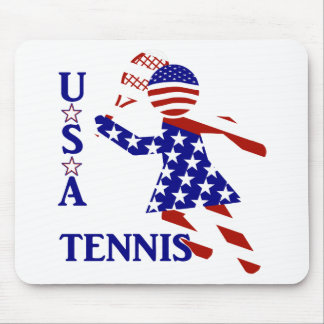 USA Women s Tennis Mouse Pads