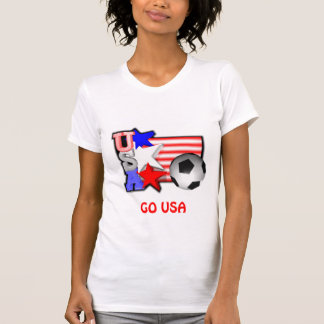USA WOMEN SOCCER STARS make America shine T-Shirt