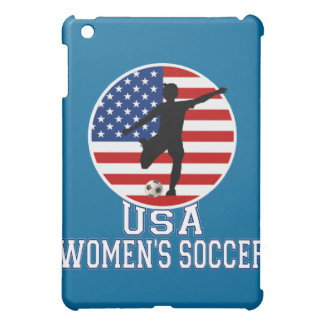 USA Women's Soccer American Flag  iPad Mini Case