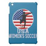 USA Women's Soccer American Flag  iPad Mini Covers