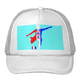 USA Women's Soccer Logo Hat