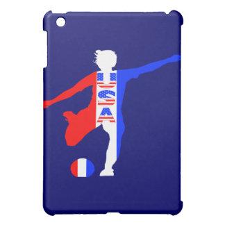 USA Women's Soccer Logo Cover For The iPad Mini