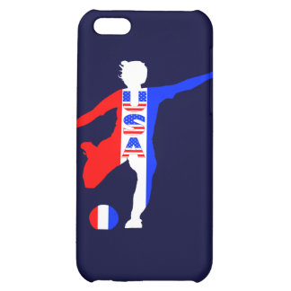 USA Women's Soccer Logo Cover For iPhone 5C