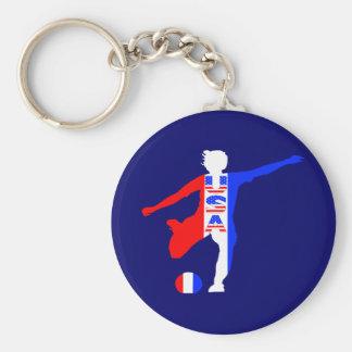 USA Women's Soccer Logo Keychain