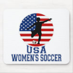 USA Women's Soccer Mouse Pad