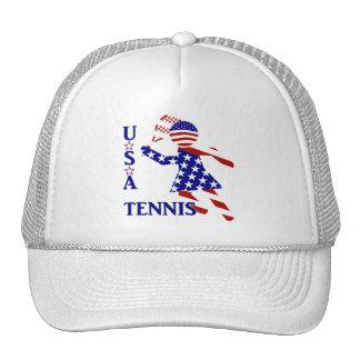 USA Women's Tennis Trucker Hat