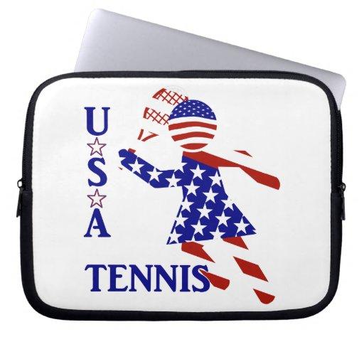 USA Women's Tennis Laptop Sleeve