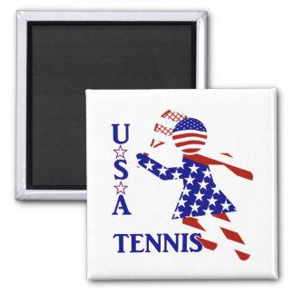 USA Women's Tennis Magnets