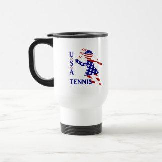 USA Women's Tennis Coffee Mugs