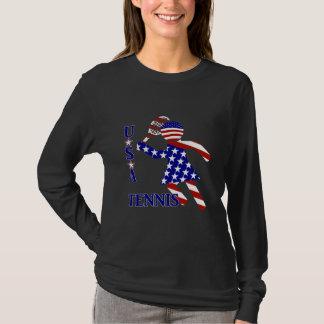 USA Women's Tennis T-Shirt